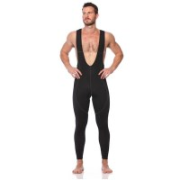 SIX30 Mens Compression Cycling Bib Tights - Black