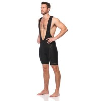 SIX30 Mens Compression Cycling Bib Shorts - Black