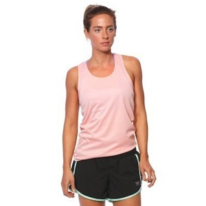 SIX30 Womens Running Singlet - Coral