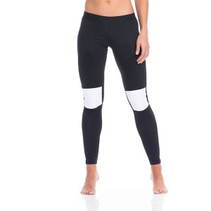 SIX30 Tory Womens Compression Training Tights - Black/White