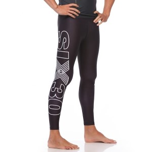SIX30 Mens Bold Compression Tights - Black
