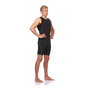 SIX30 Mens Triathlon Suit - Black