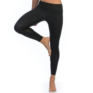 SIX30 Mesh Womens Compression Tights - Black