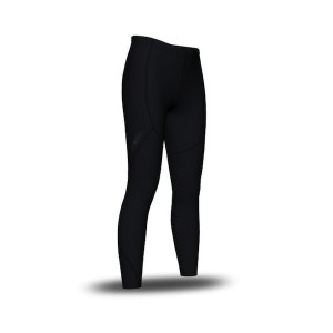 SIX30 Kids Girls Compression Training Tights - Black