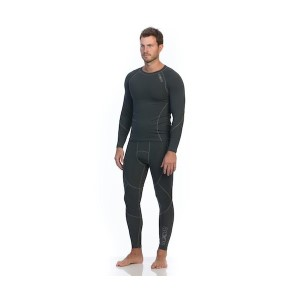 SIX30 Mens Compression Tights - Charcoal