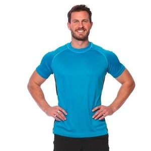 SIX30 Mens Short Sleeve Training Top - Blue